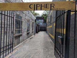 Cipher Entrance